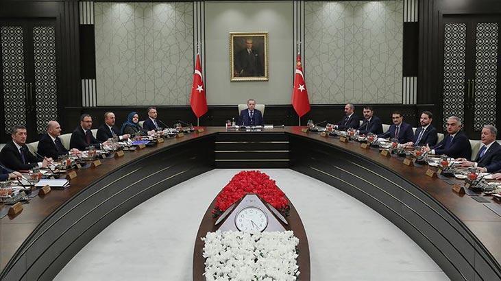 Cumhurbaşkanlığı Kabine Toplantısı sona erdi