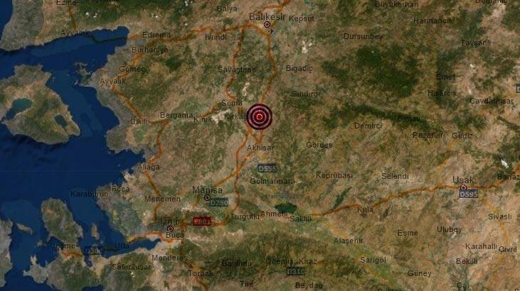 Son dakika | Manisa'da korkutan bir deprem daha