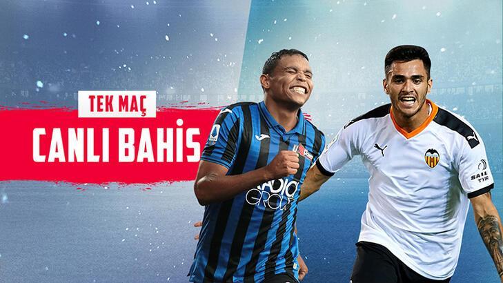 Atalanta – Valencia maçı canlı bahisle Misli.com'da