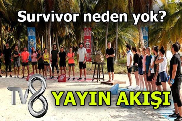 Survivor neden yok, yeni bölüm ne zaman? Survivor 2020 hangi günler yayınlanıyor? TV8 yayın akışı