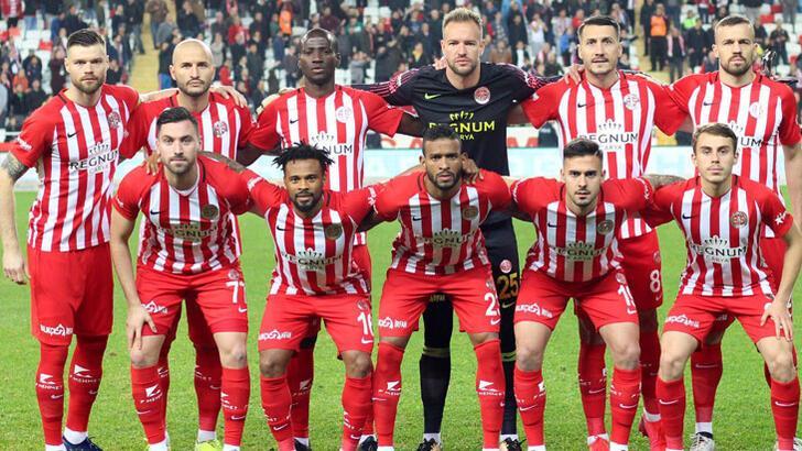 Antalyaspor 4 maçtır yenilgi yüzü görmedi