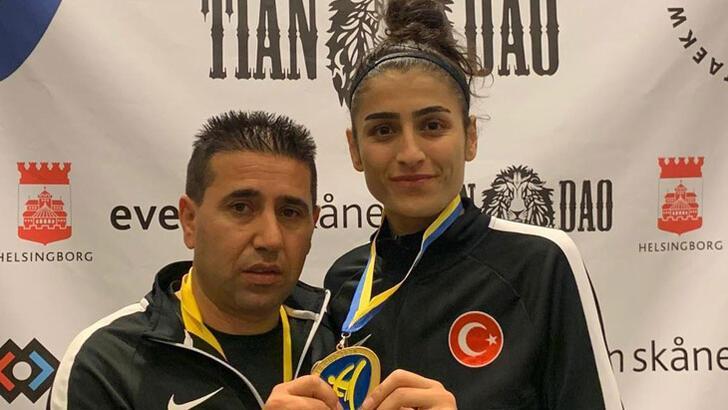 Hatice Kübra'dan bir şampiyonluk daha