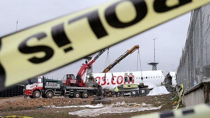 Bakanlıktan pistten çıkan uçak kazasına ilişkin açıklama