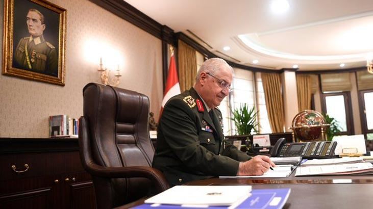 Orgeneral Yaşar Güler, İngiliz mevkidaşıyla görüştü