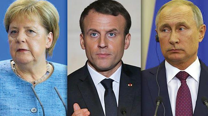 Son dakika   Merkel ve Macron'dan Putin'e İdlib çağrısı: Çatışmalar derhal son bulsun