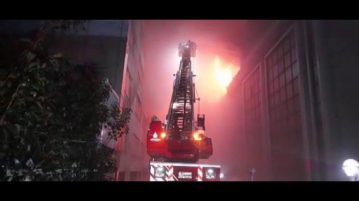 Bahçelievler'de yangın! Çok sayıda ekip sevk edildi