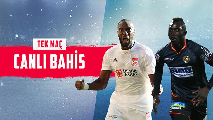 Sivasspor - Alanyaspor maçı canlı bahisle Misli.com'da