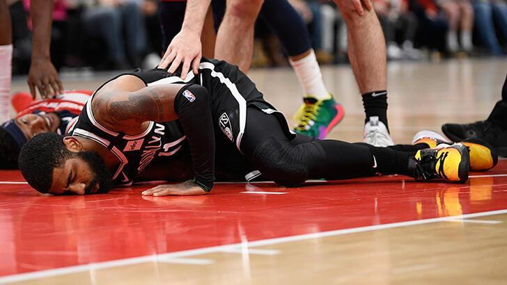 Brooklyn Nets'te Kyrie Irving, sakatlığı nedeniyle sezonu kapattı