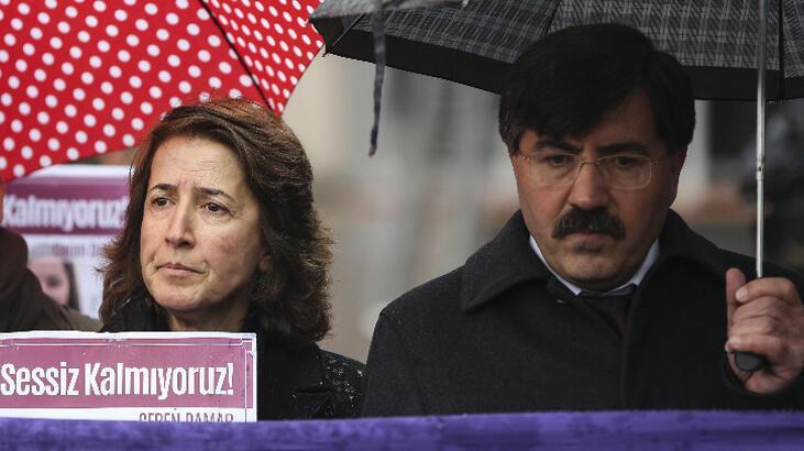 Ceren Damar Şenel'in ailesi duruşma öncesi açıklama yaptı