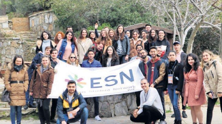 Yabancı öğrencilere sürpriz kent gezisi