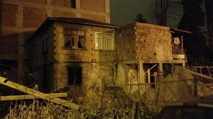 Babasından kalan evin yandığını görünce kalp krizi geçirip öldü