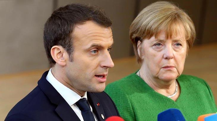 Macron ve Merkel'den İdlib'de ateşkes çağrısı