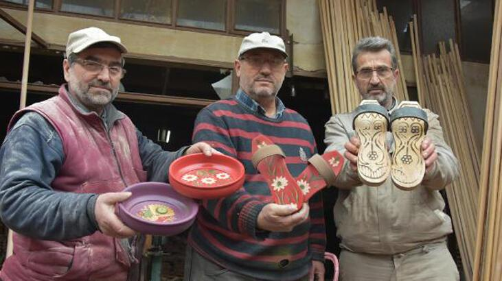 Takunya ustası dört kardeş 700 yıllık geleneği yaşatıyor