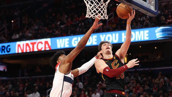 """Cavaliers, Cedi Osman'ın """"double double"""" yaptığı maçta Wizards'ı yendi"""