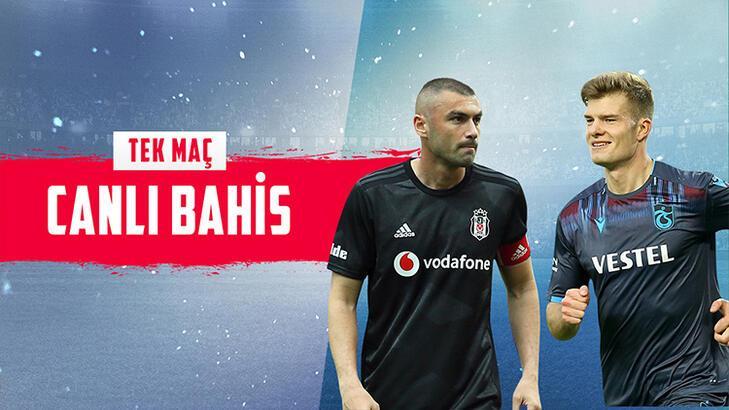 Beşiktaş - Trabzonspor maçı canlı bahisle Misli.com'da