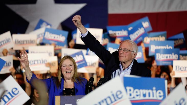 Nevada'da zafer Sanders'ın