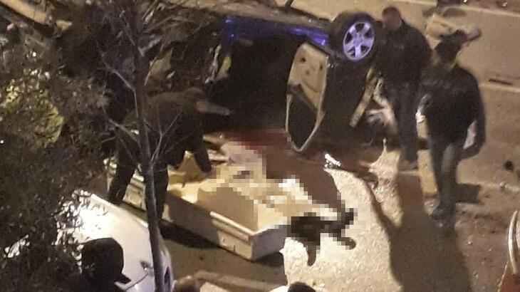 Denizli'de feci kaza! 1 ölü, 3 yaralı