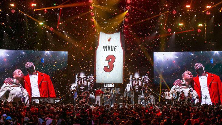 Miami Heat, Dwyane Wade'in formasını emekliye ayırdı