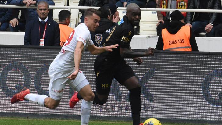 BtcTurk Yeni Malatyaspor-Fraport Tav Antalyaspor: 1-2