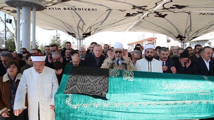 Cumhurbaşkanı Erdoğan Sinan Kılıç'ın cenaze törenine katıldı