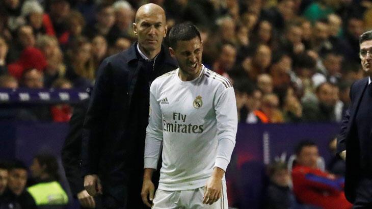 Real Madrid'e Hazard'dan kötü haber: 2-3 ay yok