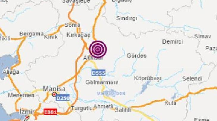 Son dakika... Manisa Akhisar'da 4.5 büyüklüğünde deprem