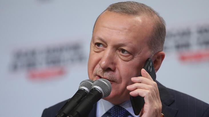 Erdoğan'dan ilçe kongresine sürpriz telefon