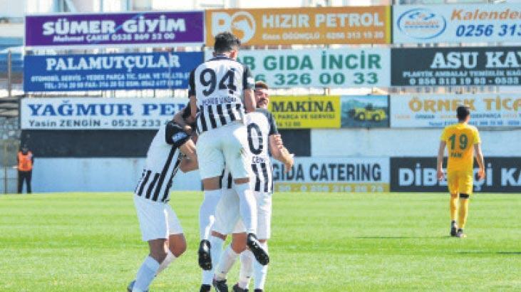 Nazilli, gol oldu yağdı