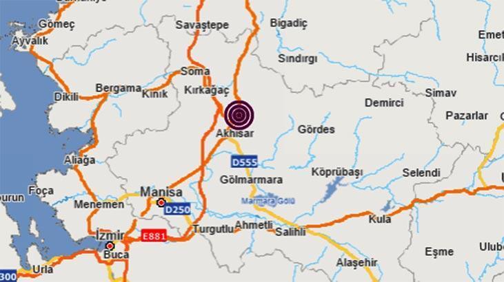 Son dakika | Manisa'da bir deprem daha