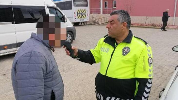 Servis şoförü alkollü çıktı! Öğrencileri okula polis bıraktı