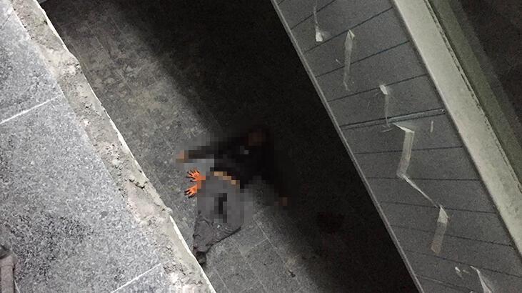 Hastane ek bina inşaatında ölü bulundu