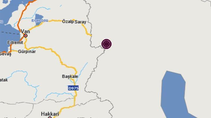 Son dakika | Türkiye - İran sınırında bir deprem daha