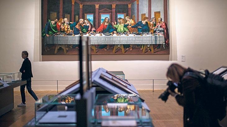 Da Vinci eserlerine rekor ziyaretçi