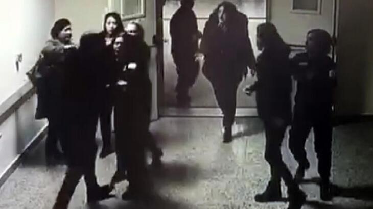 Sivas'ta hasta yakınları güvenlikçilere saldırdı!