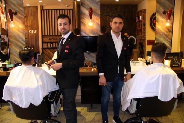 Kayserili kuaförler Türkiye'yi İtalya'da temsil edecek