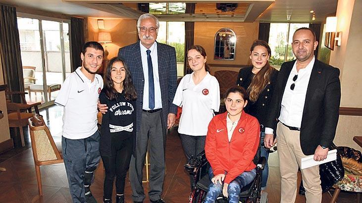 Paralimpik Milli Takımı Girne'de hazırlanıyor
