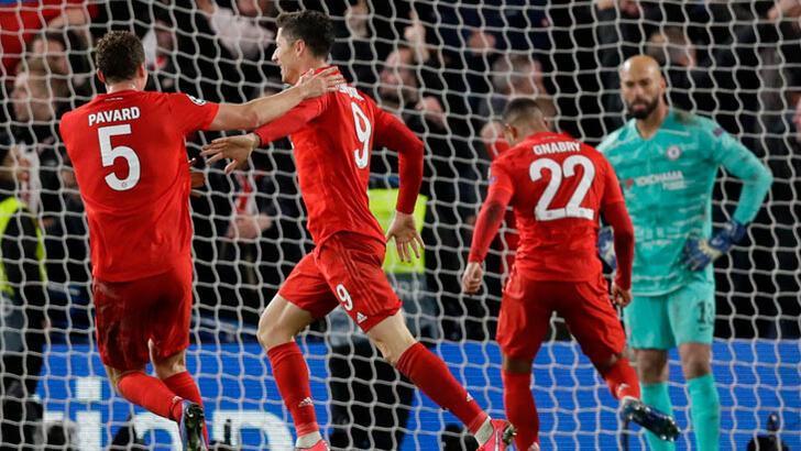 Chelsea - Bayern Münih: 0-3