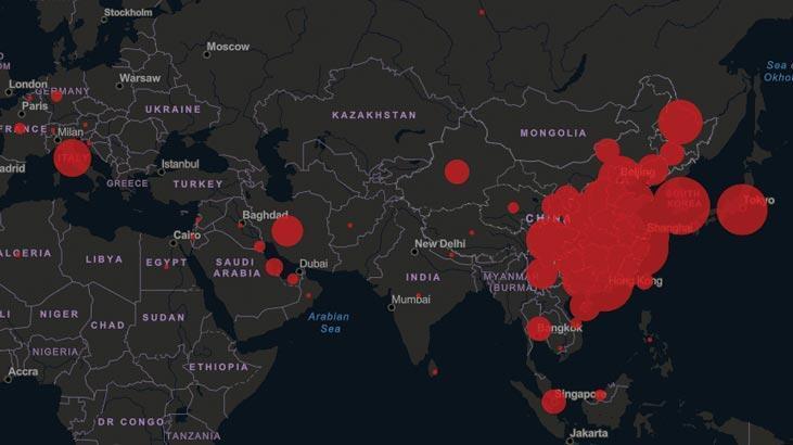 Çin'de Kovid-19 salgınında ölenlerin sayısı 2 bin 717'ye yükseldi