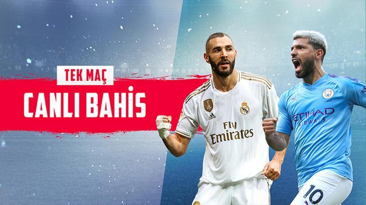 Real Madrid - Manchester City maçı canlı bahisle Misli.com'da