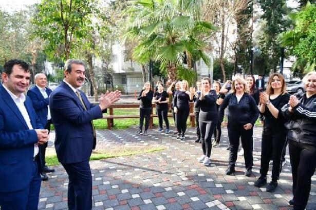 Başkan Çetin halk oyunları gösterisiyle karşılandı