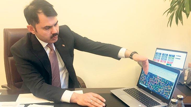 Bakan Kurum'dan kentsel dönüşüm açıklaması: 81 kentin 3 boyutlu  dijital ikizini çıkardık