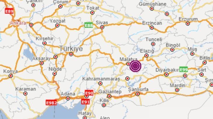 Son dakika haberler: Malatya'da sabah saatlerinde korkutan deprem! Büyüklüğü...