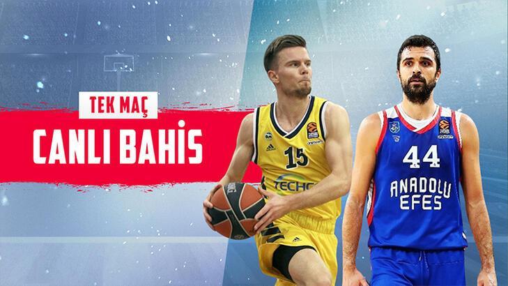 Alba Berlin - Anadolu Efes maçı canlı bahis heyecanı Misli.com'da
