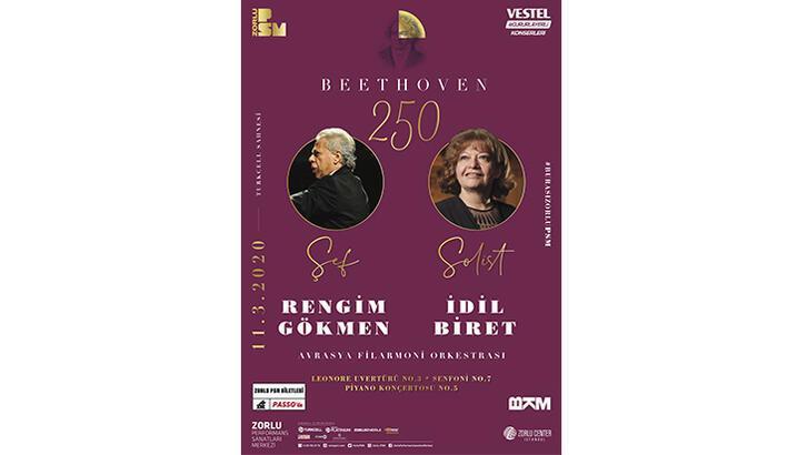 Avrasya Filarmoni'den Beethoven'in 250. doğum yılı konseri
