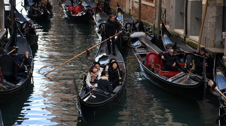 Venedik'te turizme 'koronavirüs' darbesi