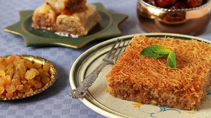 Kadayıflı kek tarifi - Kadayıflı kek nasıl yapılır?