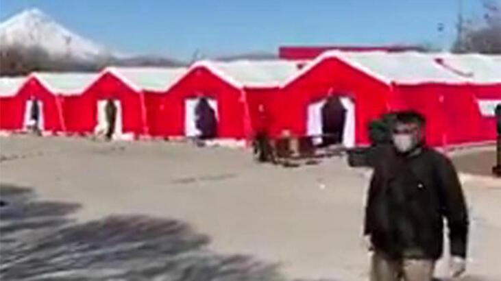 Gürbulak Sınır Kapısı'na sahra hastanesi kuruluyor