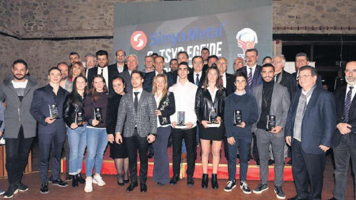 TSYD 'Yılın Spor Ödülleri' dağıtıldı