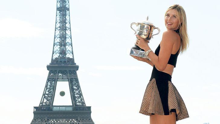 Sharapova başlı başına bir markaydı!