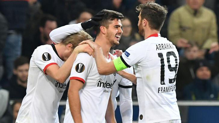 UEFA Avrupa Ligi'nde Eintracht Frankfurt tur atladı!